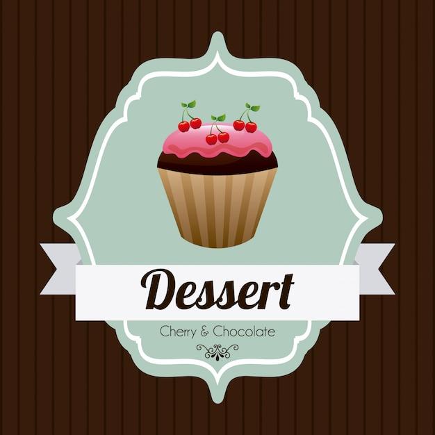 Cupcake Kostenlosen Vektoren