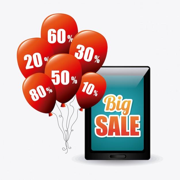 Cyber montag einkaufssaison Kostenlosen Vektoren