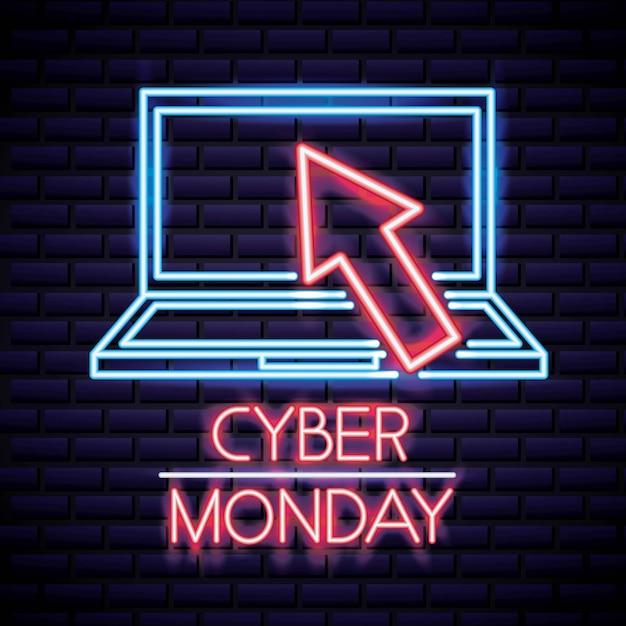 Cyber montag laden Kostenlosen Vektoren
