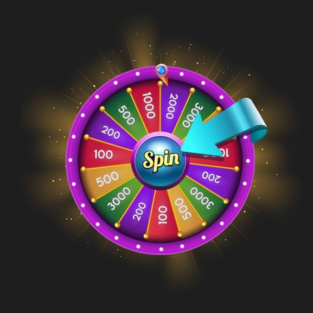 Daily-spin-wheel-for-game-ui.-reward-spinner-assets Premium Vektoren