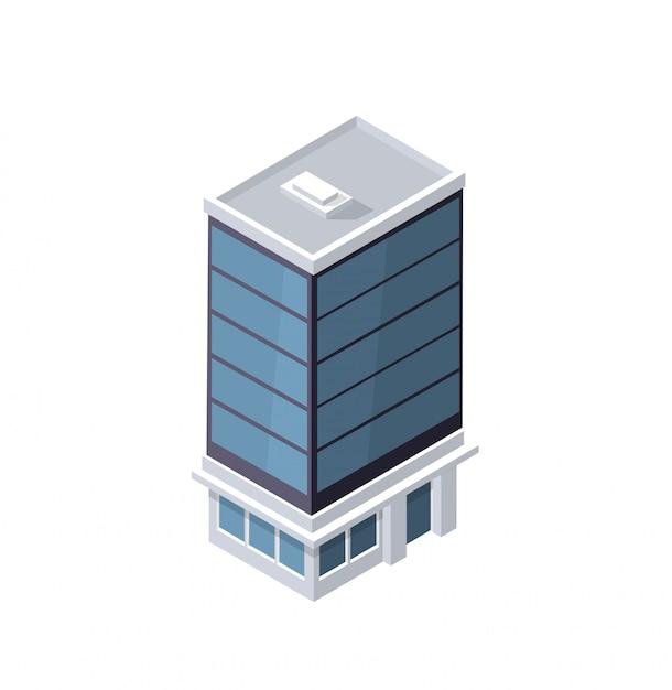 Das geheimdienstgebäude zu hause Premium Vektoren