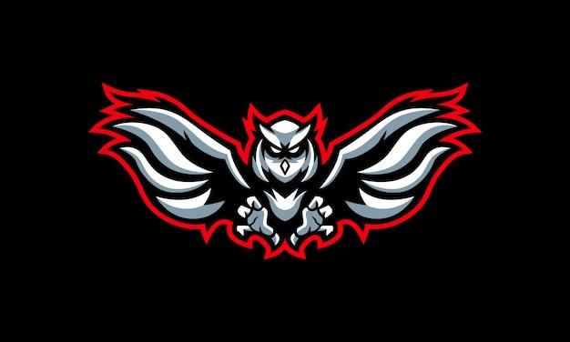 Das owl esports logo Premium Vektoren