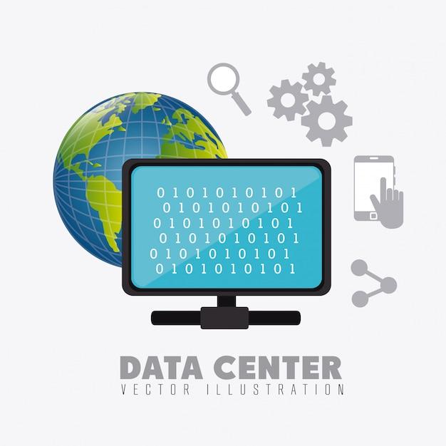 Datenbank design. Kostenlosen Vektoren