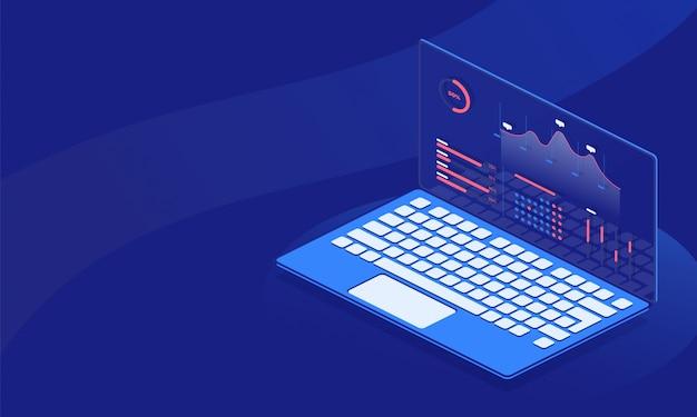 Datenmanagement Premium Vektoren