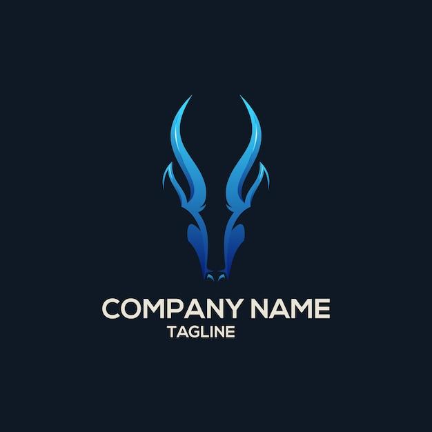 Deer logo Premium Vektoren