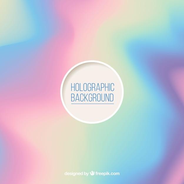 Defokussierter holographischer hintergrund Kostenlosen Vektoren