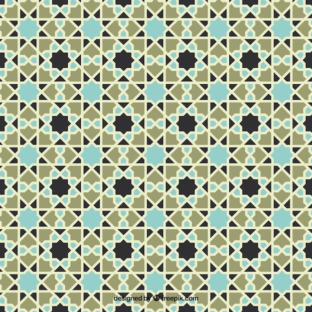 dekorative abstrakte mosaik muster download der kostenlosen vektor. Black Bedroom Furniture Sets. Home Design Ideas