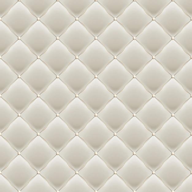 Dekorative polsterung soft gloss nahtloses steppmuster. echte luxusschablone mit goldfaden. und beinhaltet auch Premium Vektoren
