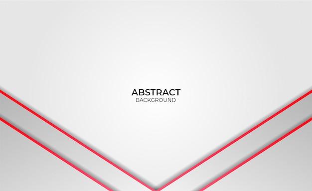 Design abstract rot und weiß Premium Vektoren