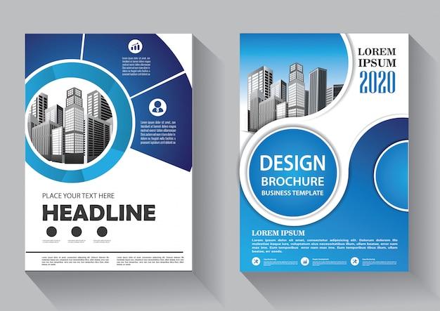 Design cover flyer business template für broschüre und jahresbericht Premium Vektoren