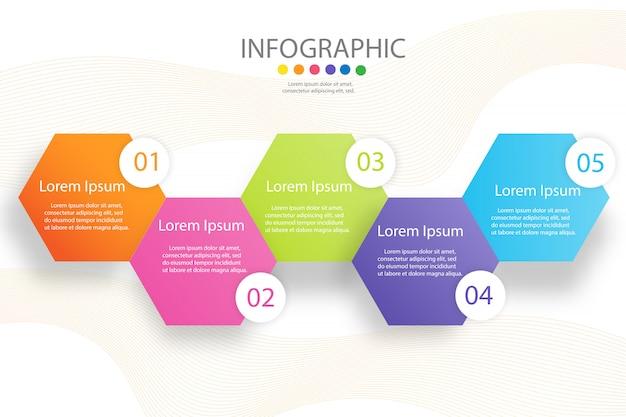 Design quadratische business-vorlage Premium Vektoren