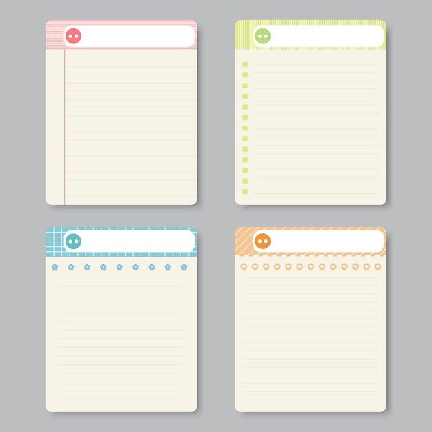 Designelemente für notebook Premium Vektoren