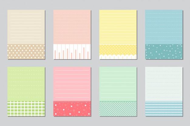 Designelemente für notebooks Premium Vektoren
