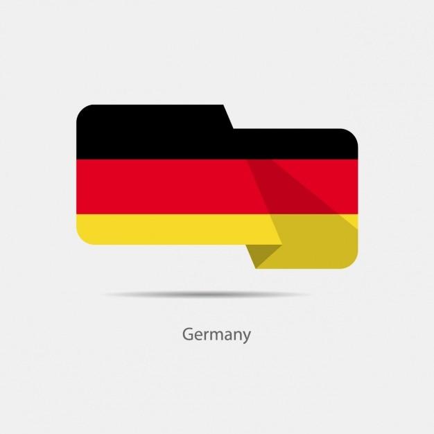 deutschland flagge design download der kostenlosen vektor. Black Bedroom Furniture Sets. Home Design Ideas