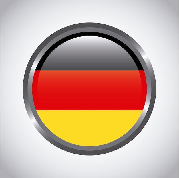 Deutschland-taste Premium Vektoren