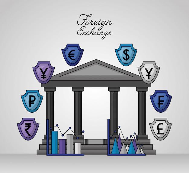 Devisen hintergrund Kostenlosen Vektoren