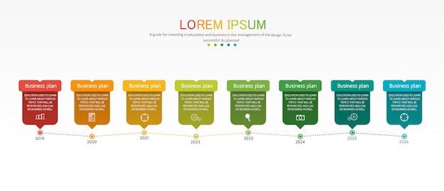 Diagramm business und bildung infographik vorlage Premium Vektoren