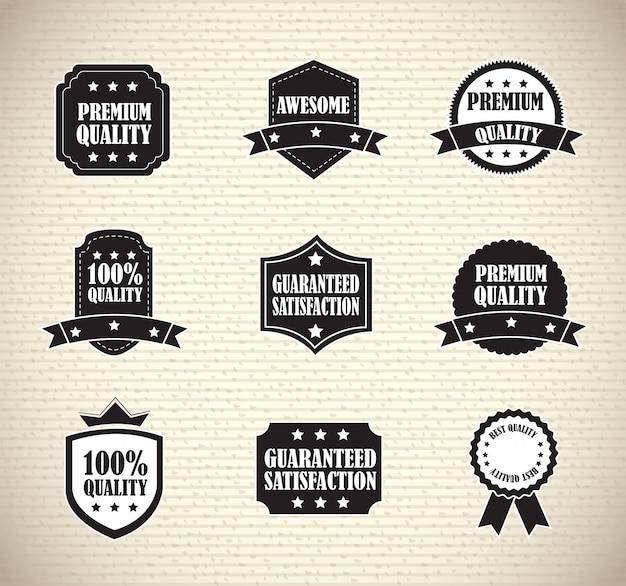 Dichtungen Premium Vektoren