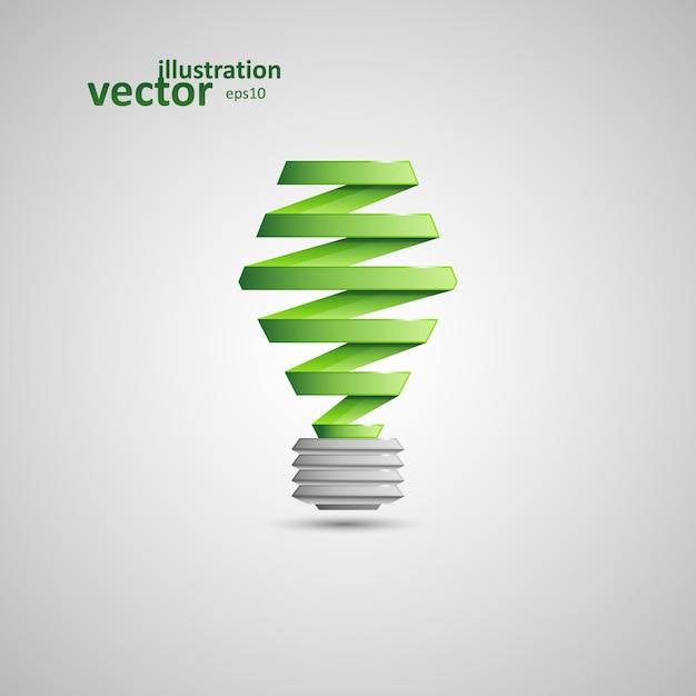 Die glühbirne Premium Vektoren