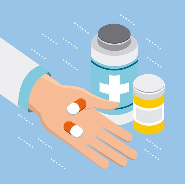 Digitales gesundheitskonzept Kostenlosen Vektoren
