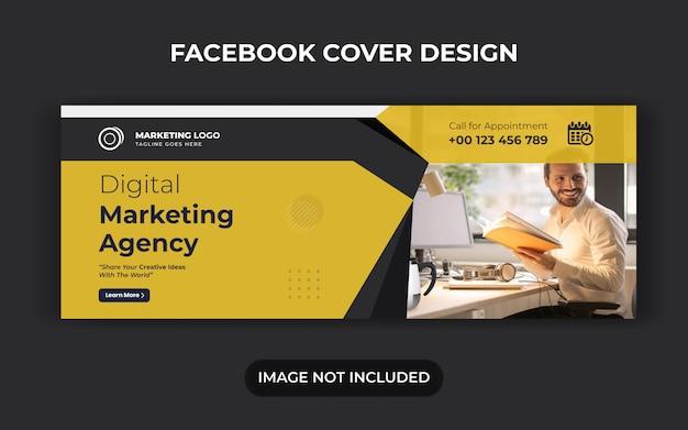 Digitales marketing social media post und web banner oder flyer design Premium Vektoren