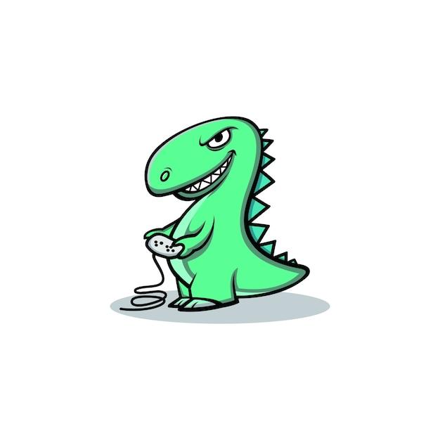 Dino Logo Zeichen Vorlage | Download der Premium Vektor