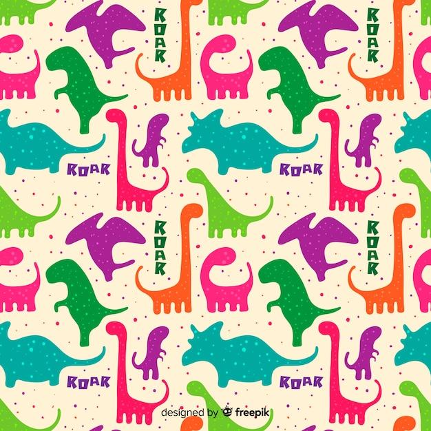 Dinosaurier-muster Kostenlosen Vektoren
