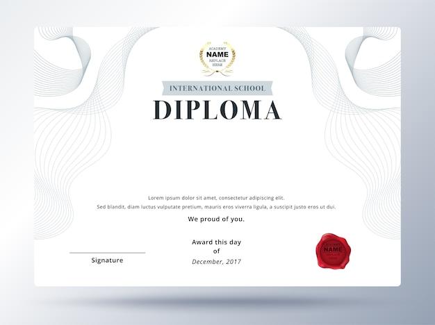 Charmant Diplom Zertifikat Vorlage Wort Zeitgenössisch - Beispiel ...