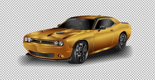 Dodge challenger srt Premium Vektoren