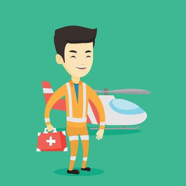 Doktor der ambulanz. Premium Vektoren