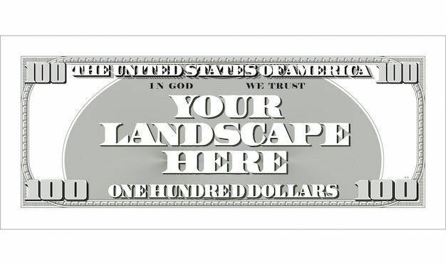 Dollar-note Premium Vektoren