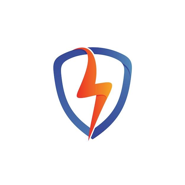 Donner-schild-logo Premium Vektoren