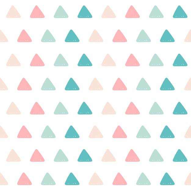 Dreieck muster hintergrund. Premium Vektoren