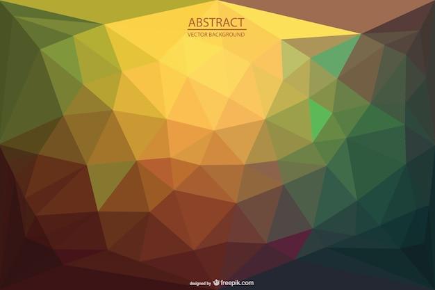 Треугольники абстрактный фон