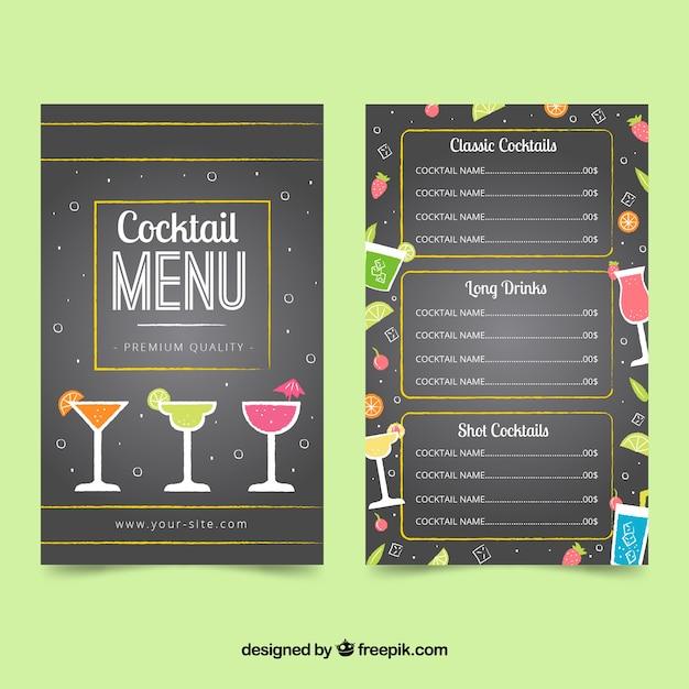 K Restaurant Cocktail Menu