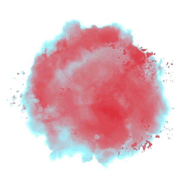 Duotone spritzer in aquarell Kostenlosen Vektoren