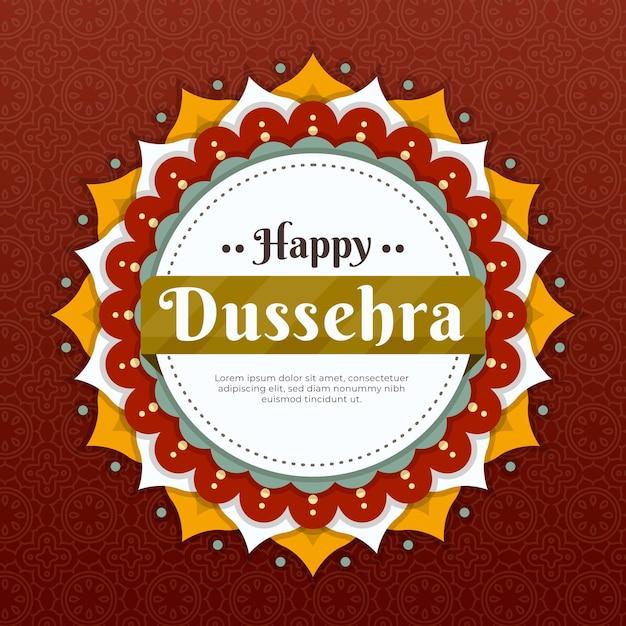 Dussehra illustration Kostenlosen Vektoren