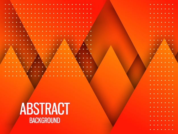 Dynamischer orange strukturierter hintergrund Premium Vektoren