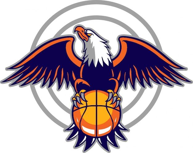 Eagle ball Premium Vektoren