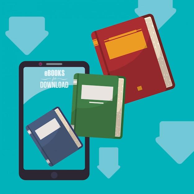 Ebook-design Premium Vektoren
