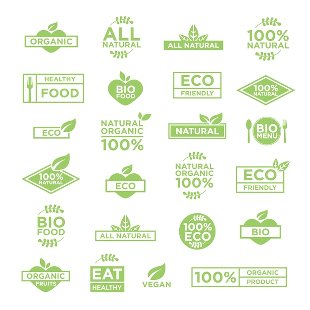 Eco logo vorlage Kostenlosen Vektoren