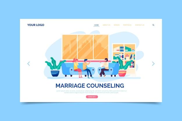 Eheberatung Kostenlosen Vektoren