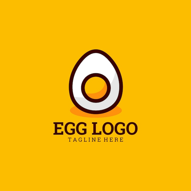 Ei-logo Premium Vektoren