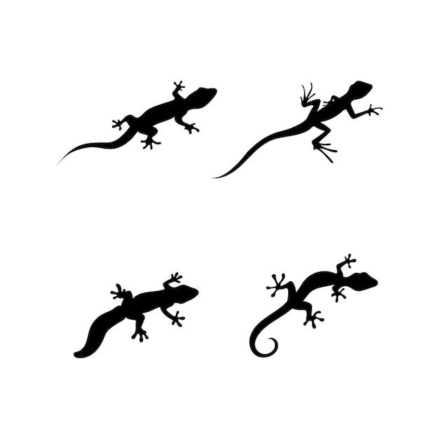 Eidechsenvektor, design, tier und reptil, geckodesign Premium Vektoren