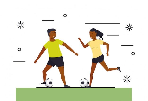 Eignungsleute, die sport ausbilden Kostenlosen Vektoren