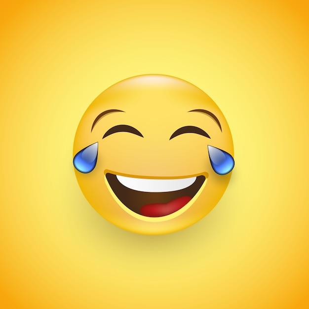 Tränen lachen smileys Emoji Bedeutung: