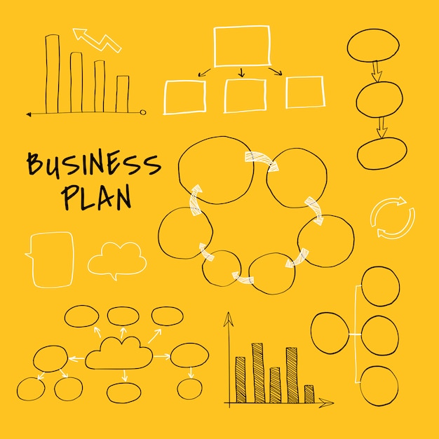 Ein neues geschäft planen Kostenlosen Vektoren
