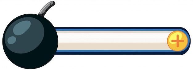 Ein spiel-symbol für die dekoration Kostenlosen Vektoren