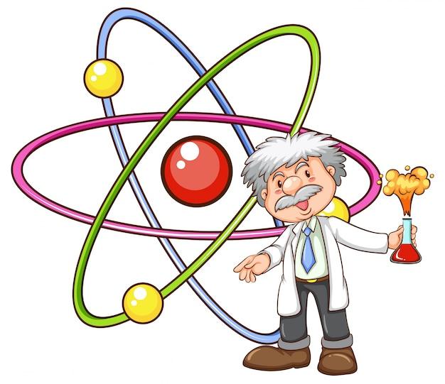 Ein wissenschaftler Kostenlosen Vektoren