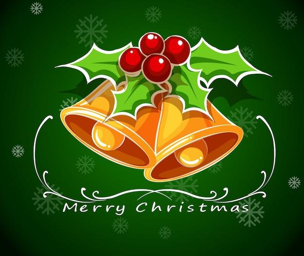A Very Merry Borik�n Christmas: Klingeln Vektoren, Fotos Und PSD Dateien